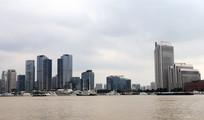 现代化城市景观