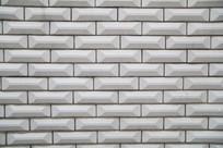 白色墙砖背景素材
