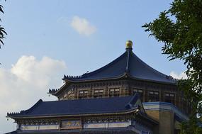 八角形宫殿式建筑