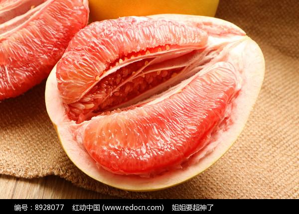 红心柚图片