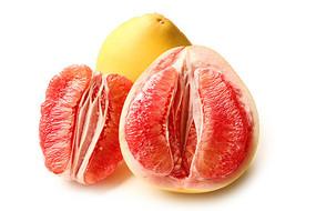 红心柚子白底 JPG