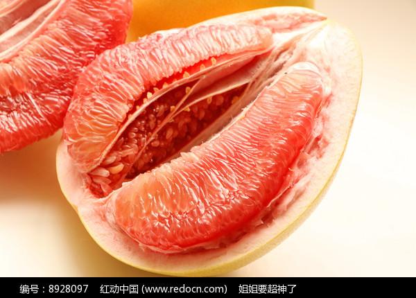 红心柚子高清图图片