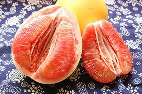 红心柚子棚拍