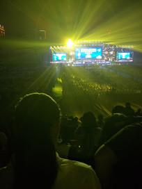 演唱会户外活动现场