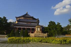 中山纪念堂八角形宫殿式建筑