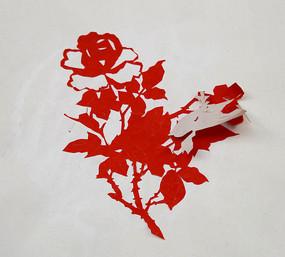 四大美女剪纸图案_剪纸艺术蝴蝶高清图片下载_红动网