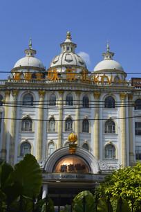 欧式建筑风格广州大伯爵酒店