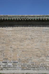 天坛青砖墙背景