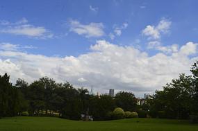 广州山云台花园一角