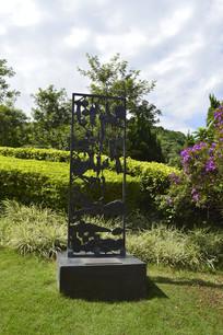 花草鸟木自然景观雕塑