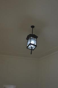 天花板中式古典吊灯