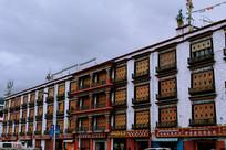 西藏民族风建筑