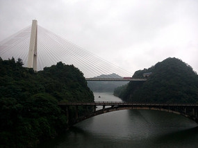 红枫湖大桥