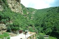 山西白人岩景观