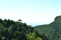 山西白人岩寺远眺