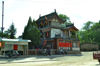 山西代县的古建筑