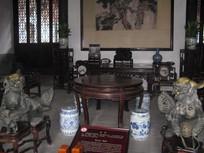 狮子林里的明清家具与石狮雕刻