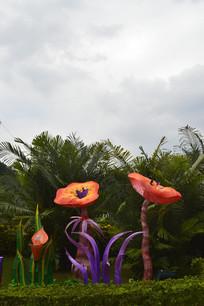 云台花园微观世界灯组