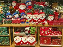 圣诞节展柜