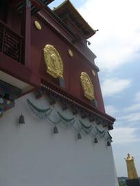 藏传佛教风格寺庙