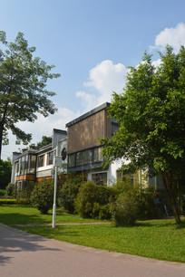 陈田花园绿化景观及古建筑