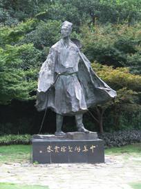 太湖的徐霞客雕像