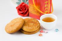 中秋食品月饼摄影