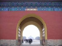 北京天坛成贞门