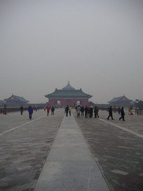 北京天坛公园中轴线