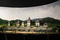 博物馆的模型房子