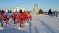 冬日风景图