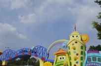 广州市儿童公园门口标志