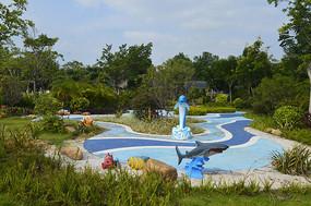 海洋生物雕塑广场
