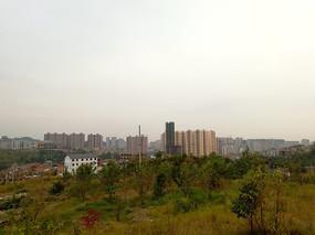 清镇市区全景