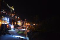 时光贵州古镇夜景