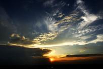 云海阳光光芒