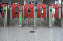 地铁检票闸机