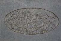 花开富贵石刻