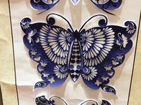 剪纸蝴蝶图