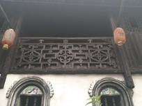 清朝建筑雕花栏杆