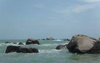 三亚天涯海角的石头