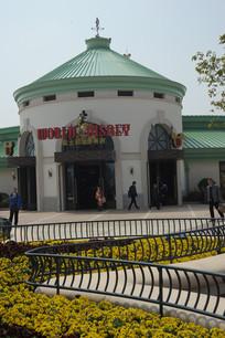 上海迪士尼购物商店竖构图