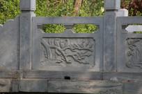 石雕喜鹊梅花