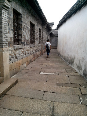 乌镇里的巷子