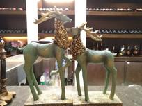 小鹿装饰品