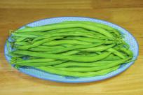 一盘绿芸豆