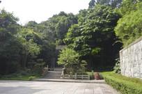 白云山公园广州碑林绿化景观