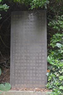 白云山公园广州碑林石刻