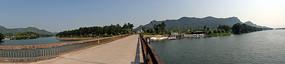 山水风景桥梁