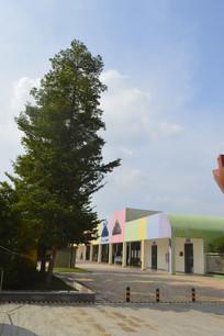 广州市儿童公园彩色建筑